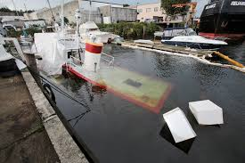 Tug Boat Sinks by Fuel Spilled As Tug Sinks Near Ballard Bridge The Today File
