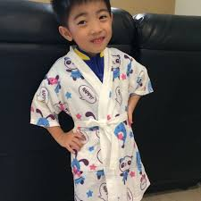 Childrens Swimming Robe Babies Kids On Carousell