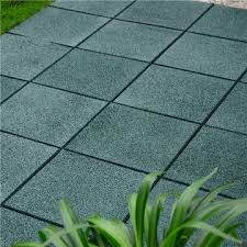 china recycled rubber tire tiles rubber deck tiles outdoor patio