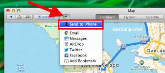Send Maps & Directions from a Mac to an iPhone Immediately