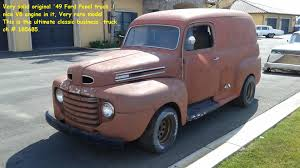 1949 Ford Pick Up | Classic Driver Market Filered Ford Panel Truckjpg Wikimedia Commons 1956 F100 Truck Vintage 1946 Truck Stock Photo 160593749 Alamy Gallery 01939 1938 Review 1955 Ipmsusa Reviews 1949 Front Side For Sale 1944 Joels Old Car Pictures Classic 1940 Just Sold Blocker Motors Courier 1952 Ford F1 Panel Truck Project Donor Car Included 5900 The Hamb