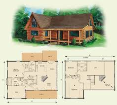 Cabin Floor Loft With House Plans