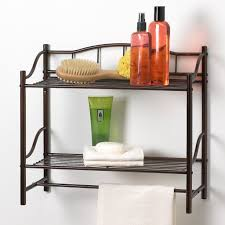 Bathroom Wall Shelves With Towel Bar by Best Wall Shelf Organizer With Towel Bar Reviews Findthetop10 Com