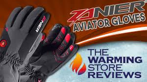 zanier aviator heated gloves the warming store youtube