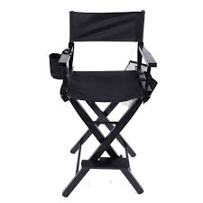 New Directors Chair 30 Inch Canvas Tall Seat Black Wood Folding Hair ... Amazoncom Easy Directors Chair Canvas Tall Seat Black Wood Folding Wooden Garden Fniture Out China Factory Good Quality Lweight Director Vintage Chairs With Mercury Outboard Acacia Natural Kitchen Zccdyy Solid High Charles Bentley Fsc Pair Of Foldable Buydirect4u Aland Departments Diy At Bq Stock Photo Picture And Royalty Bar Stools A With Frame For Rent