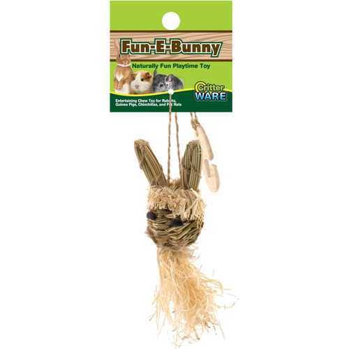 Ware Manufacturing Natural Fun-E-Bunny Pet Chew Toy - Small
