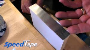 Decorative Metal Banding For Furniture by Speedtape With Metal Edge Banding Youtube