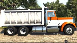 100 Two Ton Truck BeamNG Drive Dump Transporting 6 Rocks
