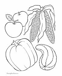 Healthy Food Coloring Pages For Kids