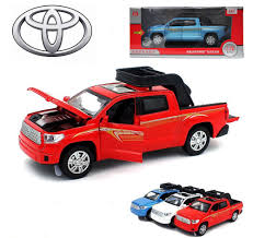 100 Toyota Pickup Truck Models Tundra Metal Alloy Diecast Model Pull Back Car Kids LED Toy EBay