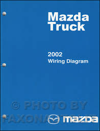 100 2002 Mazda Truck Wiring Diagram Manual Original B2300 B3000 B4000