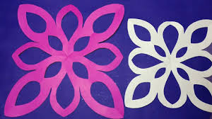 Paper Cutting DIY How To Make Simple Easy Design Step By StepEasy Craft