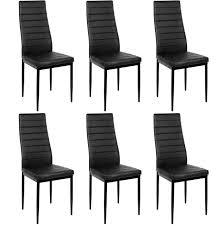 6pcs stühle esszimmer hause bar nordic stil moderne halb leder dauerhaft hohe qualität lounge stuhl wohnzimmer cafe zimmer hwc