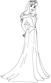 Aurora Princess Coloring Pages Sofia The First And