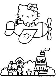 Hello Kitty Coloring Pages And Sheets