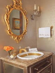 Sherle Wagner Italy Sink by French Inspired Gold Bathroom Interiors By Color