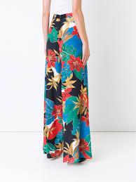 alice olivia zebra bag alice olivia u0027athena u0027 palazzo pants women