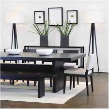 Sensational Modern Dining Table Black Camila With Within Ideas 5 Contemporary Room Sets China