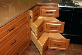 Blind Corner Kitchen Cabinet Ideas by Corner Cabinet Kitchen Furniture Building Corner Cabinet Kitchen