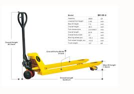 100 Pallet Truck ApolloLift Heavy Duty Manual Jack 6600 Lbs Capacity 48L