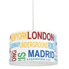luminaire chambre ado suspension chambre adolescent capitales du monde le avenue