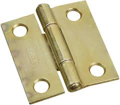 Non Mortise Cabinet Hinges Nickel by Stanley Hardware 1 1 2 Inch Narrow Utility Hinge With Non