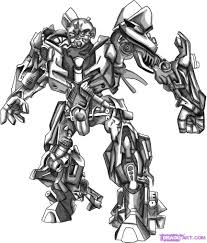 Transformers 4 Coloring Pages Bumblebee
