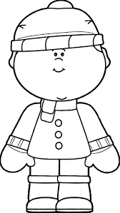 Coloring Winter Clothes Best Pages Save Clothing Mitten