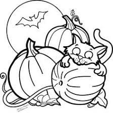 Halloween Cat Coloring Pages 19 Httpwhimsicalpublishingcachilds