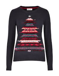 5ft Christmas Tree Tesco by Embroidered Christmas Tree Jumper M U0026s