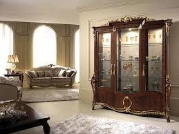 Donatello Display Cabinet With 3 Doors Elegant Decor A Classic