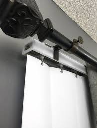 Suction Cup Curtain Rod Holder by Best 25 Curtain Rail Brackets Ideas On Pinterest Window Shelves