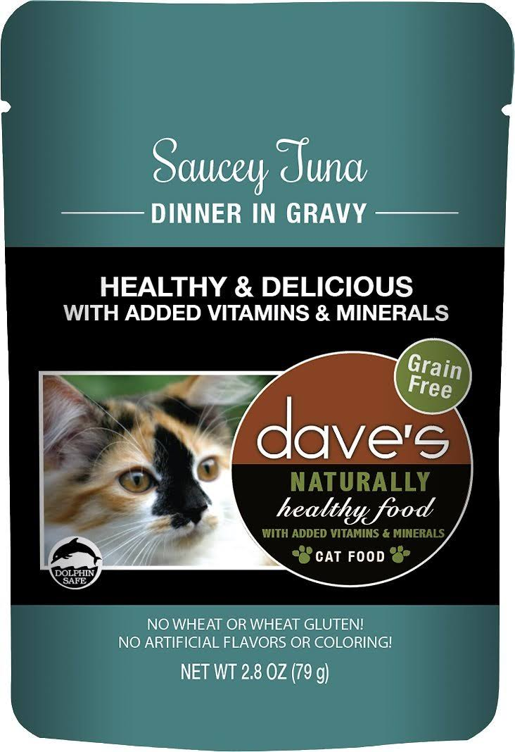 Dave's Pet Food Healthy Tuna 2.8oz PCH Canned Cat Food