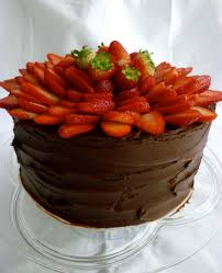 Somebody out there is turning 6 Happy Birthday Wishes e true Chocolate & Strawberry Cake