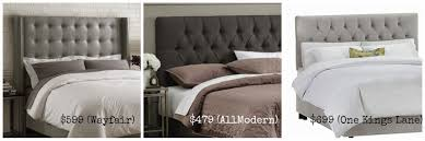 Skyline Tufted Headboard Wingback by How To Make Tufted Headboard 45 Nice Decorating With Build A Diy