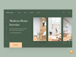 100 Home Interior Website Modern Intro Design By Bhavna Kashyap For Nickelfox