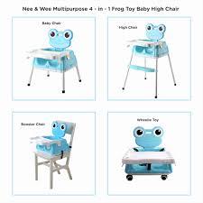 100 Frog High Chair Nee Wee Multipurpose 4in1 Toy Baby Buy Nee