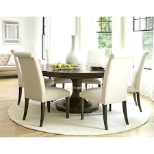 Round Dining Room Rug Rugs Elegant Contemporary For