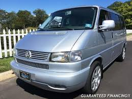2003 Volkswagen Eurovan Gasoline With Sunroof Moonroof