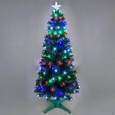 Mini Fibre Optic Christmas Tree by 5ft Galaxy Multi Colour Fibre Optic Christmas Tree With Leds Ebay