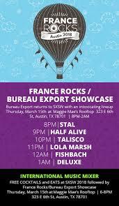 export bureau rocks bureau export showcase sxsw the bloom effect