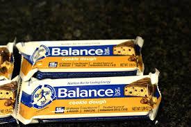 Balance Bar Cookie Dough Flavor