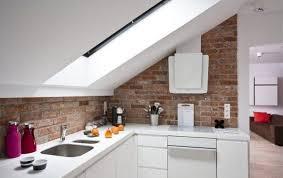 dachschräge küche dachschräge dachboden renovierung