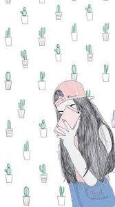 Cool Wallpaper Drawings Cactusgirl Panna Wallpapers Pinterest Of Cute Starbucks Tumblr Picks