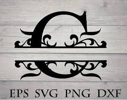 Split font