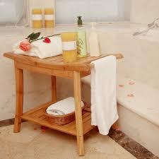 dusche sitzbank mit handtuch hanger badezimmer spa bad veranstalter hocker mit 2 tier lagerung regal badewanne dusche stuhl buy dusche stuhl bambus