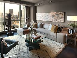 Cool Shaggy Rugs In Living Room Contemporary With Dining Paint Colors Next To Top Rated Sectional Sofas Alongside Matching Floor And Wall Tile Wood
