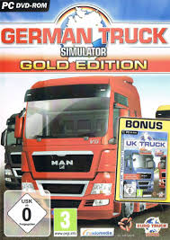 100 German Truck Simulator Gold Edition 2010 Windows Box Cover Art