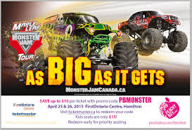 Ticketmaster Coupon Code Monster Jam - Free Coupons For ... Monster Jam Crush It Playstation 4 Gamestop Phoenix Ticket Sweepstakes Discount Code Jam Coupon Codes Ticketmaster 2018 Campbell 16 Coupons Allure Apparel Discount Code Festival Of Trees In Houston Texas Walmart Card Official Grave Digger Remote Control Truck 110 Scale With Lights And Sounds For Ages Up Metro Pcs Monster Babies R Us 20 Off For The First Time At Marlins Park Miami Super Store 45 Any Purchases Baked Cravings 2019 Nation Facebook Traxxas Trucks To Rumble Into Rabobank Arena On