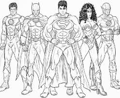Justice League Unlimited Coloring Pages